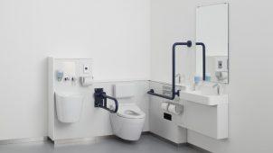 TOTO、パブリック向けのウォシュレット・多機能トイレを発売