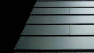 元旦ビューティ、断熱材の前施工ができる横葺き金属屋根を発売