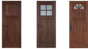 阿部興業、ドア部分だけをリフォームできる玄関ドアシリーズに新デザイン誕生