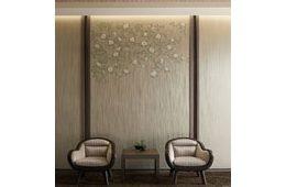 トミタ、四季をテーマに日本の伝統美を表現する新作壁紙を特別展示