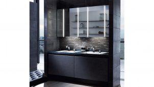 LIXIL、最上位グレード洗面化粧台のインテリア性を向上