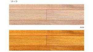 マンションリノベ向け、床暖房対応直貼りフローリングを発売