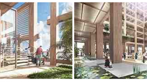 住友林業、木造超高層建築開発構想「W350計画」始動