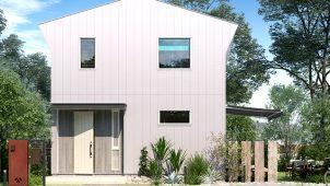 ジブンハウス、新デザイン「Urban」追加  切妻屋根を現代的にアレンジ