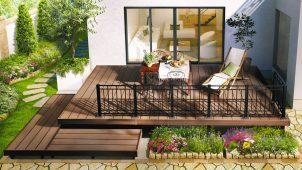 三協アルミ、人工木デッキと組み合わせるアルミ鋳物フェンスなど発売