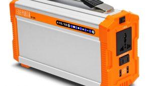 200Wの家電を約1時間使用できる小型蓄電池を発売