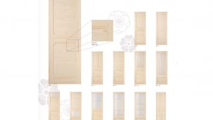 大正浪漫がコンセプト、信州産赤松使った室内ドア発売 プレイリーホームズ