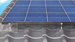 ソーラーパネルの鳥害対策フェンスシステムを発売
