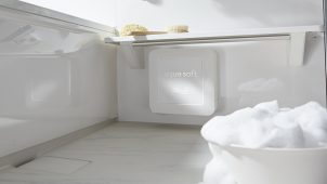 軟水シャワーで石けんカス予防、掃除が楽なシステムバス発売 ハウステック