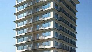 床がCLTの高層建築物が着工 仙台の賃貸マンション