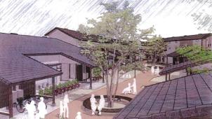ナイス、「森でつながる街」をコンセプトとした市営住宅が完成