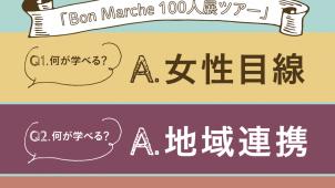 【受付終了】BonMarche 100人展ツアー