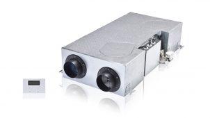 日本スティーベル、有効換気量率99%の天井埋込式熱交換換気を発売
