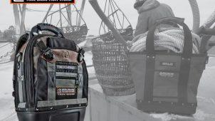 米国発、職人が開発した工具バッグを発売