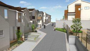 吉永建設、戸建て分譲住宅に宅配ボックスを標準搭載