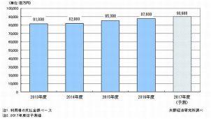家事支援サービス市場、2017年度900億円超に成長 矢野経済研調べ