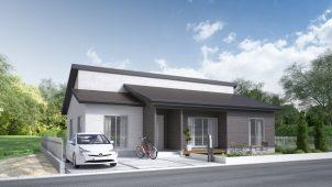 パパまるハウス、ぜいたくな平屋企画型住宅商品を発売