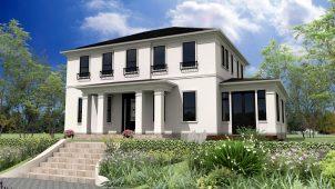 GLホーム、2階大空間をアレンジできる家「ウッズヒル」発売
