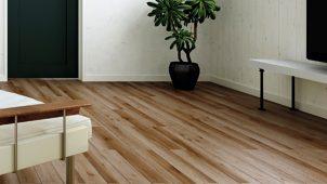 LIXIL、天然木みたいな質感のマンション向け防音床