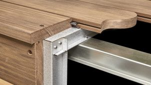 ABC商会、遮熱・帯電抑制機能備えた人工木デッキ材を発売