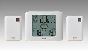 タニタ、3カ所の温湿度を同時に確認できるコンディションセンサー発売