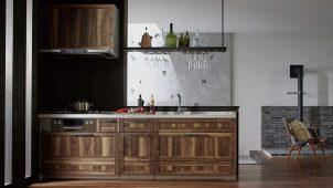 クリナップ、中高級価格帯のステンレスキッチンを刷新