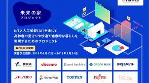 NTTドコモなど10者、第2回IoTスマートホーム実証実験を開始