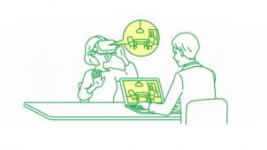 リコー、VRでの接客が可能な新サービス