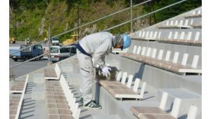 シオンの高耐候塗料、2019年ラグビーW杯会場に採用