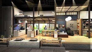 パナソニックセンター大阪、民泊向け住空間展示をリニューアル