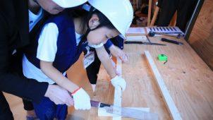 タツミプランニング、大工さん体験できるイベント開催