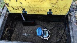 スマート水道メーターの遠隔検針実験が成功
