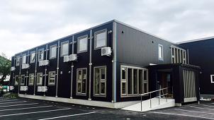 アーキビジョン21、動く家「スマートモデューロ」2階建て宿泊施設をオープン