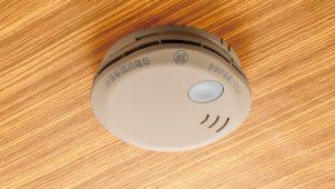 ホーチキ、住宅用火災警報器に木目調内装になじむ「和室色」
