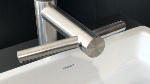 ダイソン、ハンドドライヤーを一体化したユニークな洗面用水栓を発売