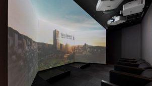 ドローンによる眺望映像も マンションギャラリーがプレオープン