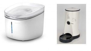 給水器や給餌機など、ペット向けIoT製品をラインアップ
