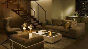 メルクマール、コンクリ製バイオエタノール暖炉5機種を発売
