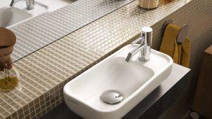 セラトレーディング、さまざまな空間に合う手洗い器2機種を発売