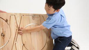 ヤマガタヤ産業、プラモデルのような木製家具自作キットを発売