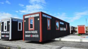 7月豪雨被災者向けに「モバイル型応急仮設住宅」供給開始