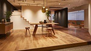 朝日ウッドテック、素材感を体感できる「横浜ショールーム」を開設