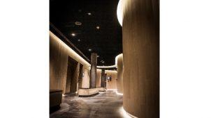 チヨダウーテ、水まわり空間での曲面壁が可能に