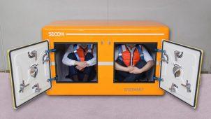 耐荷重30t、セコムが2人用防災シェルターを発売