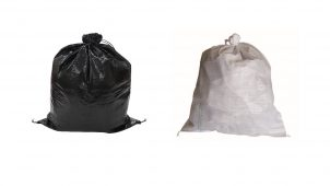 用途で選べる、耐候性が異なる土のう袋3種類を発売