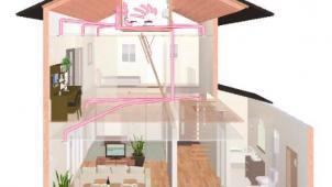 アイフルホーム、エアコン1台で家中快適な『全館空調システム』発売