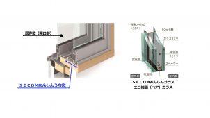 セコムxAGC、断熱・防犯・防音性を高めるリフォーム内窓