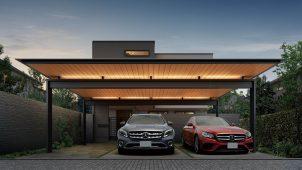 YKKAP、住宅との一体感とディテールにこだわった大型屋根発売