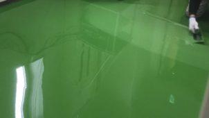 アイカ工業、紫外線による変色抑える塗り床材を発売