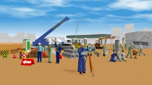 メガソフト、「3D工事イラストワークス」に道路作成機能を追加